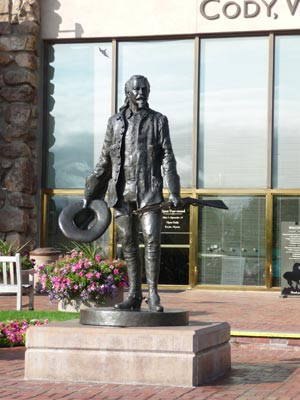 Statue of Buffalo Bill