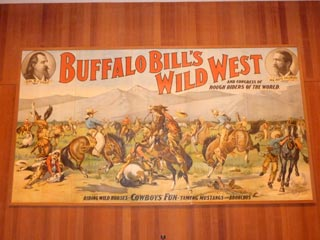 Poster for Buffalo Bill Show