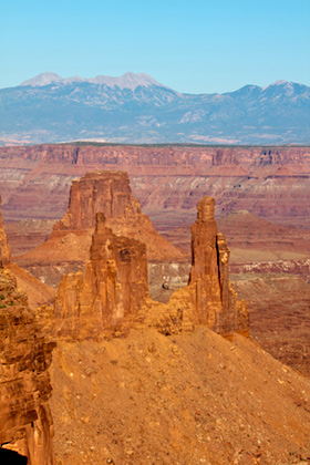 View of Canyonlands National Park