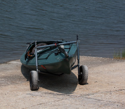 Nessie on wheels ready to launch