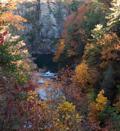 View of Upper Tallulah Gorge