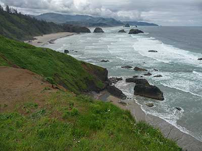 Beach on Oregon Coast