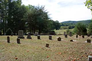 Graveyard in Cades Cove