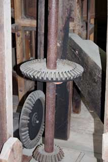 Interior of Mingus Mill