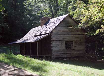 Old Cabin on Roaring Fork Loop