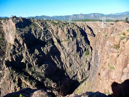 Royal Gorge  showing Arkanssas