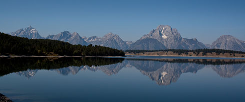 Reflections of Grand Tetons